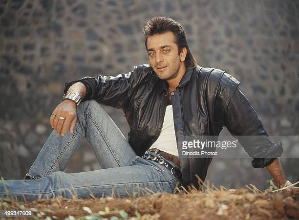 1990 Portrait of Indian film actor Sanjay Dutt