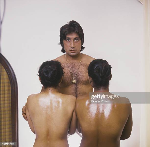 1985 Portrait of Indian film actor Shakti Kapoor