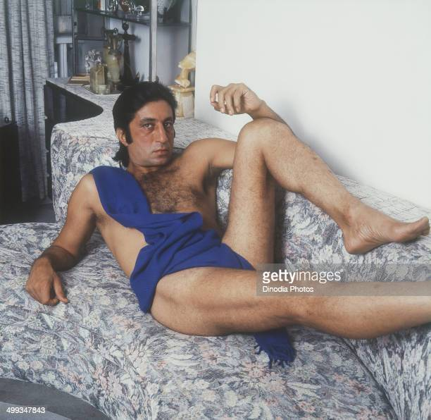 1989 Portrait of Indian film actor Shakti Kapoor