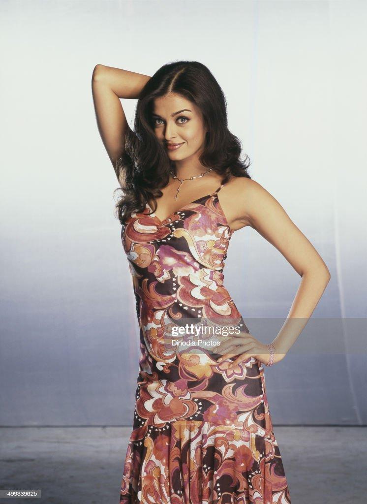 2003 Portrait of Indian film actress and model Aishwarya Rai