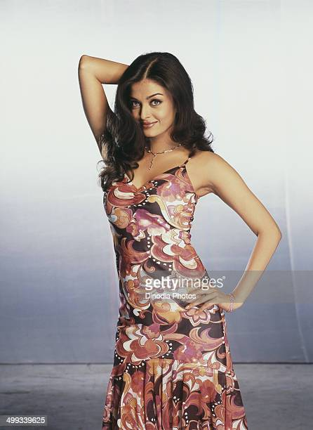 2003 Portrait of Indian film actress and model Aishwarya Rai