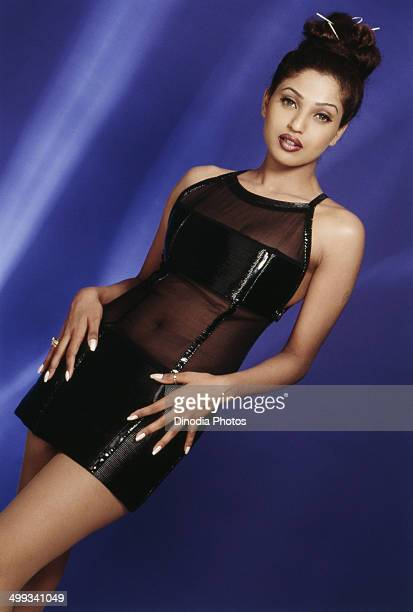 2000 Portrait of Indian film actress and model Suman Ranganathan