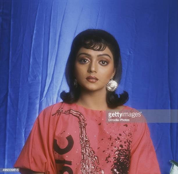 1991 Portrait of Indian film actress Bhanupriya