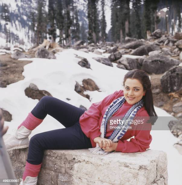 1987 Portrait of Indian film actress Mandakini