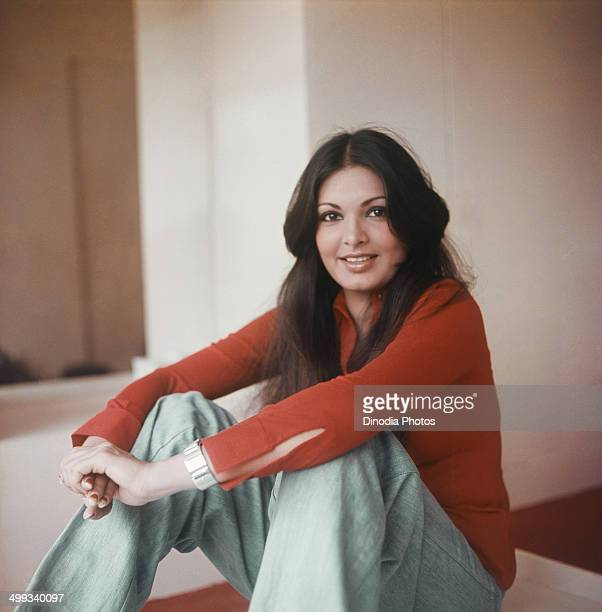 1978 Portrait of Indian film actress Praveen Babi