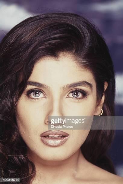 2001 Portrait of Indian film actress Raveena Tandon
