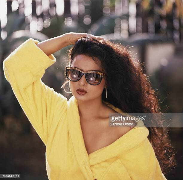 1984 Portrait of Indian film actress Rekha