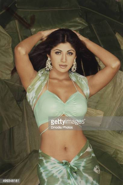 2002 Portrait of Indian film actress Shilpa Shetty