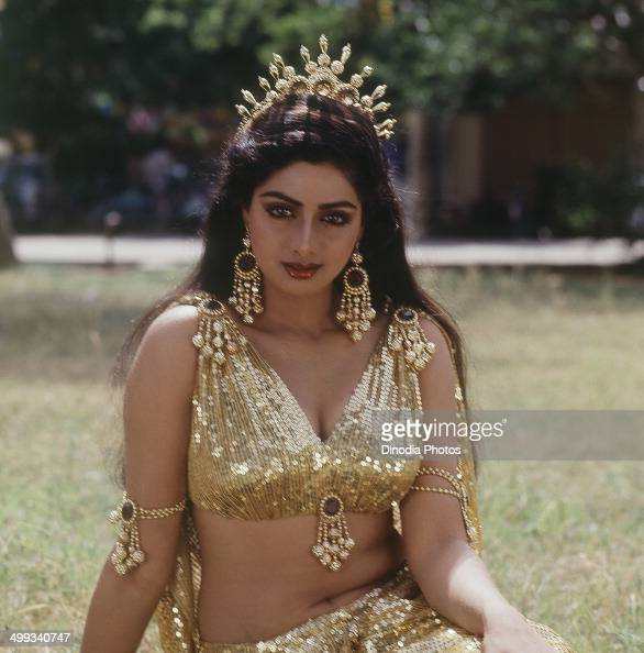 1985, Portrait Of Indian Film Actress Sridevi. News Photo