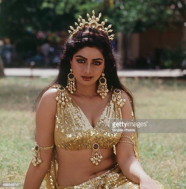 1985 Portrait Of Indian film actress Sridevi