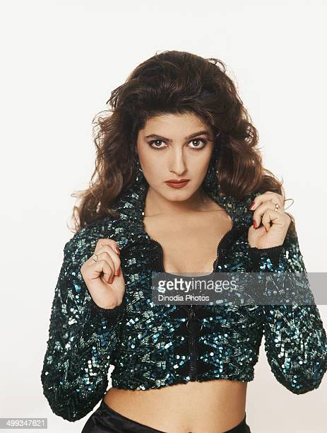 1996 Portrait of Indian film actress Twinkle Khanna