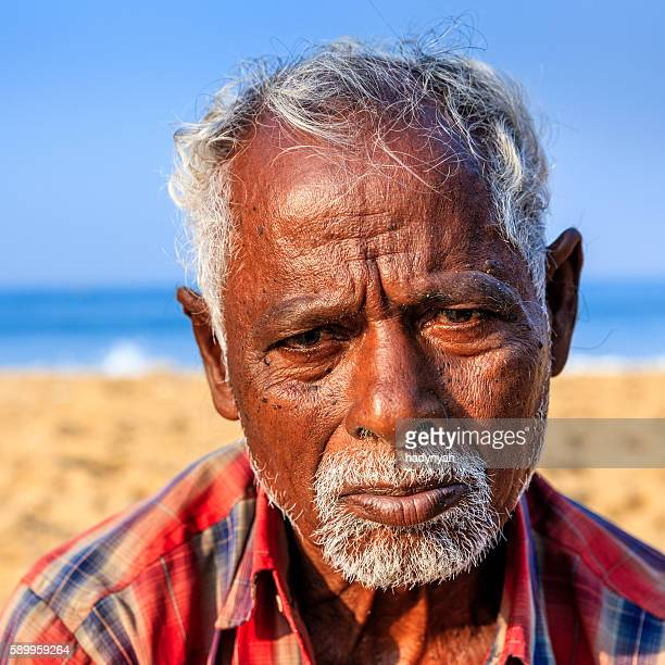 Portrait of Indian fisherman