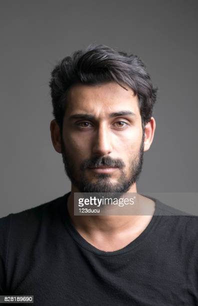 portrait of indian man - beard stock pictures, royalty-free photos & images