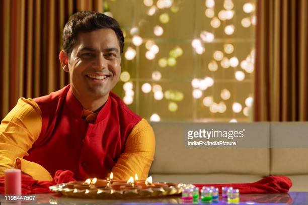 2 162 Diwali Men Photos And Premium High Res Pictures Getty Images