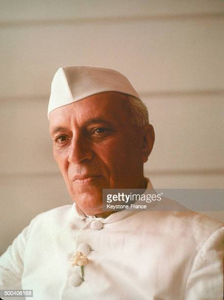 Portrait of Indian Prime minister Jawaharlal Nehru 1950 in London United Kingdom