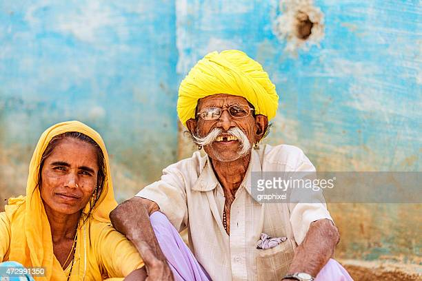 Portrait of Indian Senior Couple