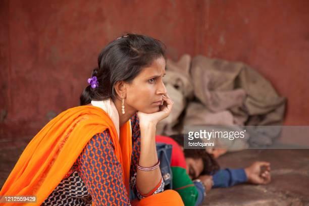 インド女性の肖像 - fotofojanini ストックフォトと画像