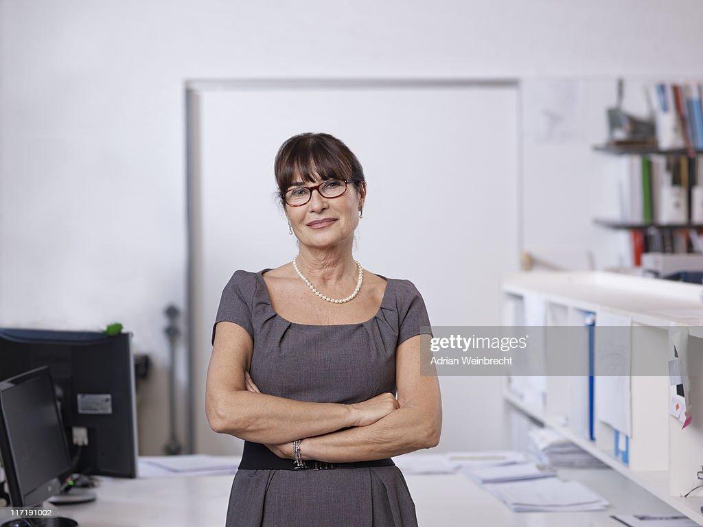 Porträt eines einzelnen Architekten : Stock-Foto