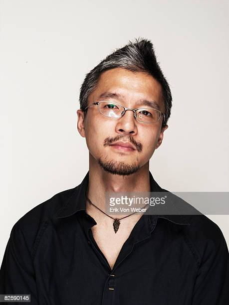 Portrait of Individual on a white background