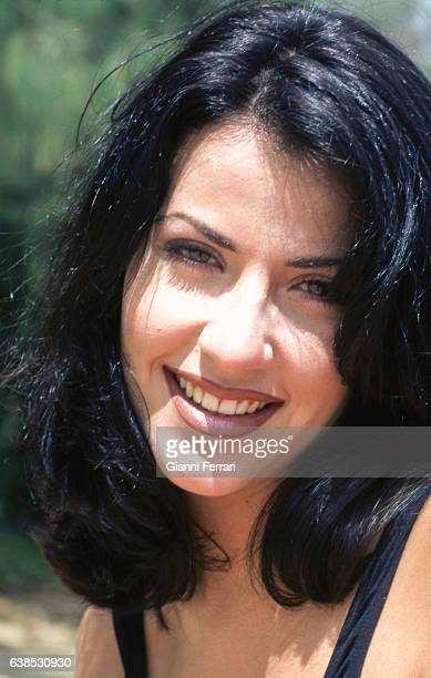 A Portrait of Ines Sainz Miss Spain 1997 11th June 1997 Mahe Island in the Islands of Seychelles