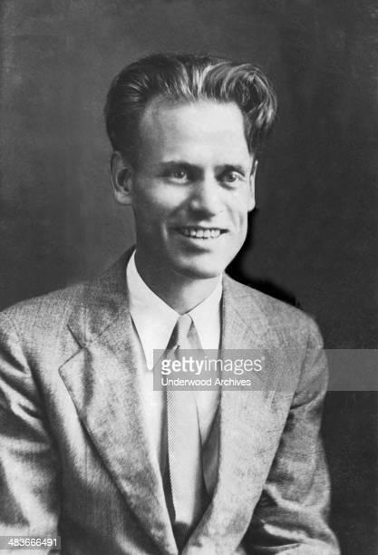 A portrait of inventor and television pioneer Philo Farnsworth San Francisco California 1925