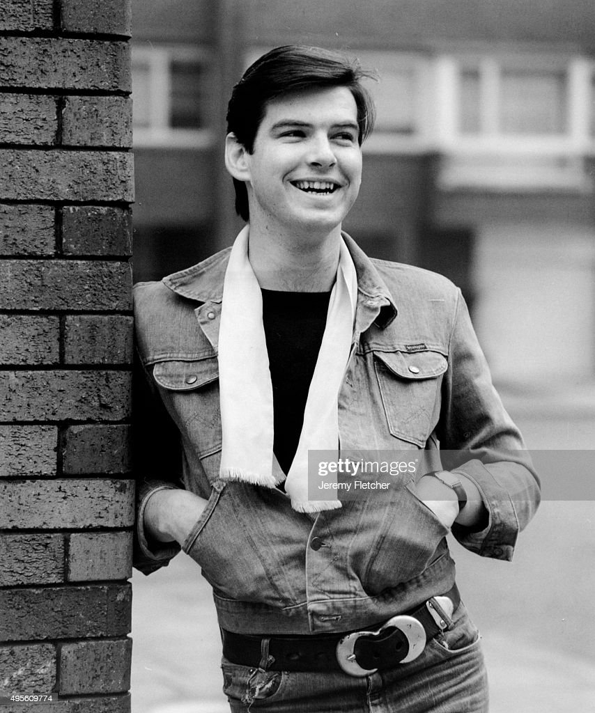 Portrait of Irish actor Pierce Brosnan, London, United Kingdom, circa 1978.