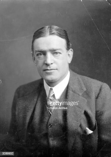 Portrait of Irish Antarctic explorer Sir Ernest Henry Shackleton circa 1910