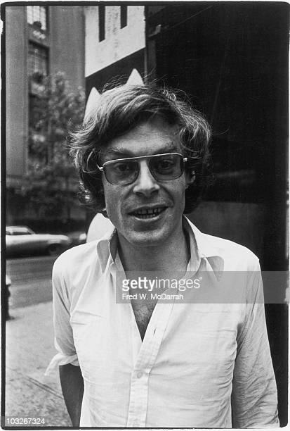 Portrait of Irish journalist Alexander Cockburn New York New York May 31 1975