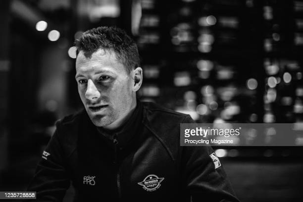 Portrait of Irish professional cyclist Sam Bennett of UCI WorldTeam DeceuninckQuick-Step, photographed during an interview in southern Australia, on...