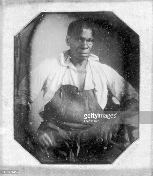 Portrait of Isaac Jefferson slave of Thomas Jefferson circa 1847