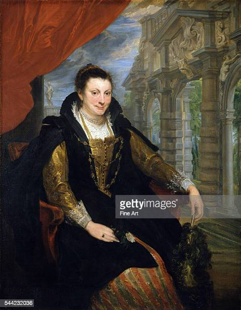 Portrait of Isabella Brant the first wife of Peter Paul Rubens 1621 Oil on canvas 153 x 120 cm National Gallery of Art Washington DC