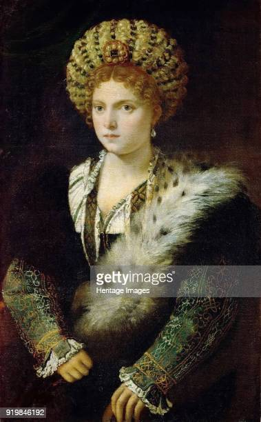 Portrait of Isabella d'Este, c.1535. Found in the collection of Art History Museum, Vienne.Fine Art Images/Heritage Images/Getty Images)