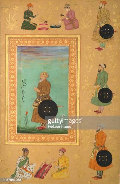 Portrait of Islam Khan Mashhadi, 17th century. Artist Payag.