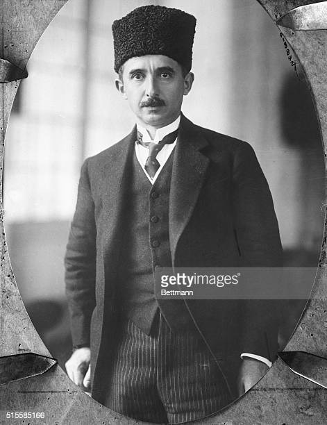 Portrait of Ismet Pasha Turkish Delegate to the Lausanne Conference