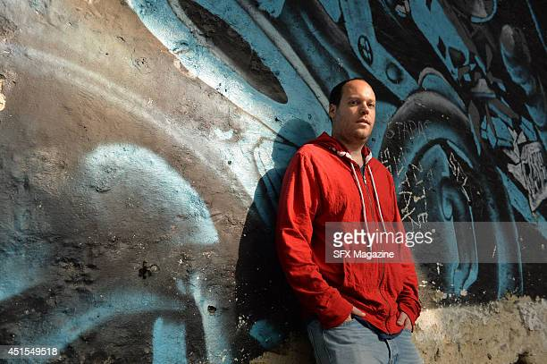 Portrait of Israeli fantasy and science fiction author Lavie Tidhar photographed in London England on September 20 2013