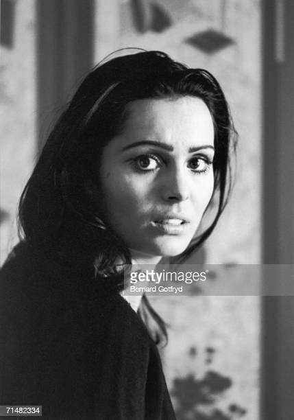 Portrait of Israeli film actress and later singer Daliah Lavi as she looks over to the camera New York 1966 Lavi followed her short Hollywood film...