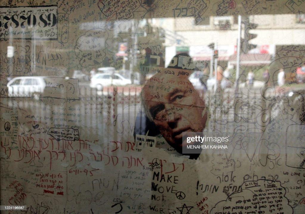MIDEAST-PALESTINIAN-ISRAEL-RABIN : News Photo