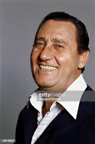 Portrait of Italian actor and director Alberto Sordi 1979