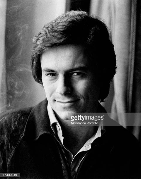 Portrait of Italian actor Massimo Dapporto Rome 1970s