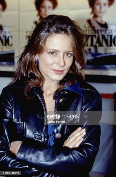 Portrait of Italian actress Aitana SanchezGijon Madrid Spain 1997