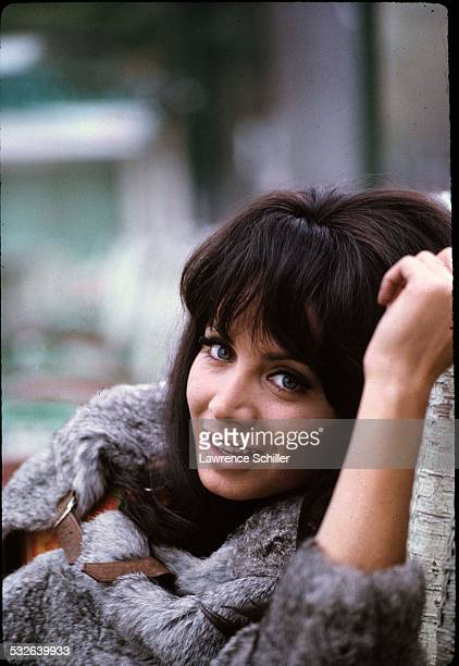 Portrait of Italian actress Maria Grazia Buccella during a break in the production of the film 'Villa Rides' Andalusia Spain 1968