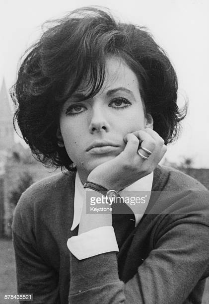 Portrait of Italian actress Marilu Tolo star of the film 'Le judoka agent secret' October 11th 1966