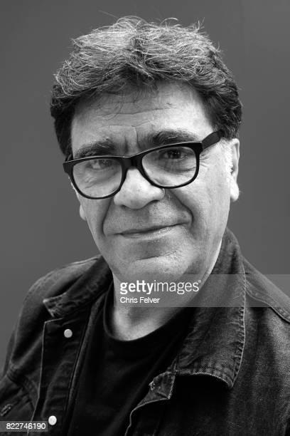 Portrait of Italian artist Pierluigi Guglielmo Venice Italy May 8 2017