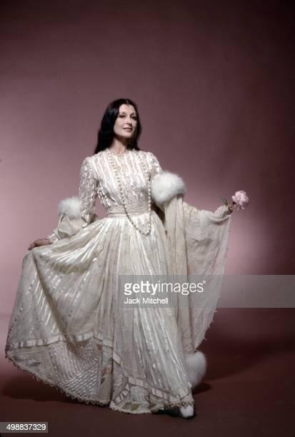 Portrait of Italian ballet dancer Carla Fracci, New York, 1991.