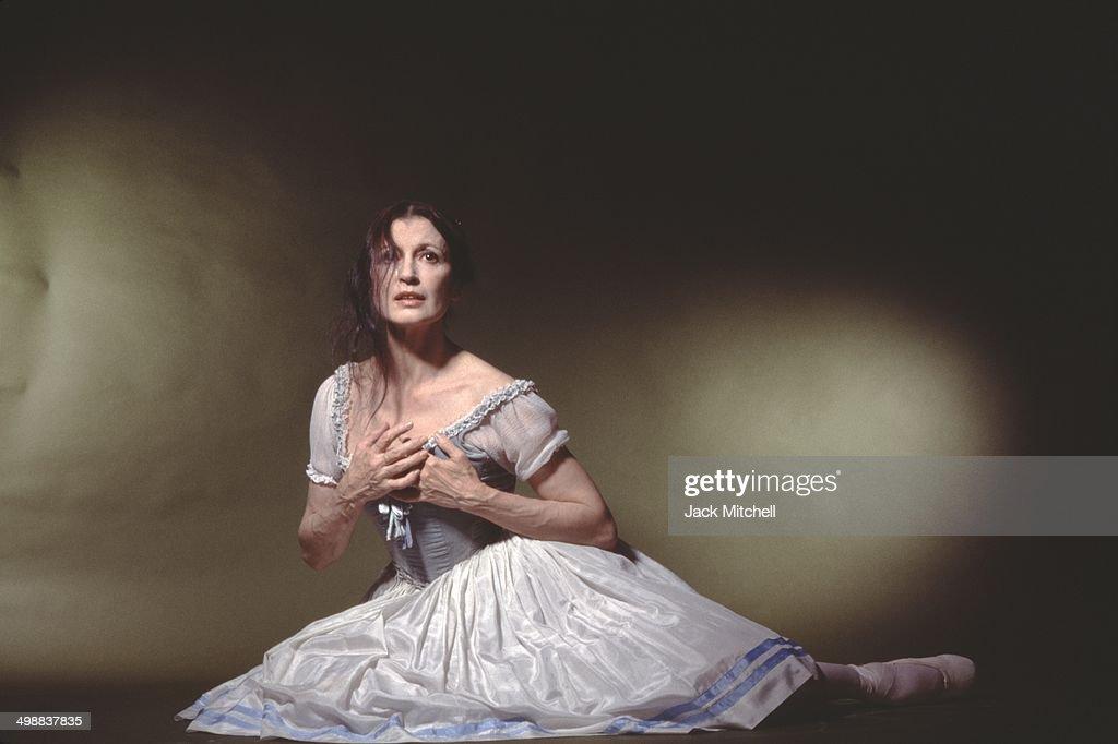 Portrait Of Carla Fracci : Foto di attualità