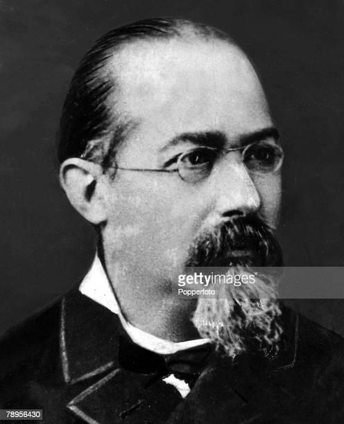 Portrait of Italian criminologist Professor Cesare Lombroso 18361909