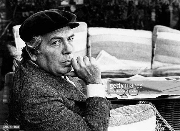 Portrait of Italian director and scenarist Elio Petri 1970s