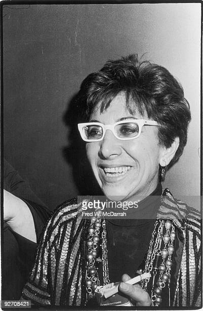 Portrait of Italian film director Lina Wertmuller at the Lincoln Center Film Festival New York New York January 17 1976