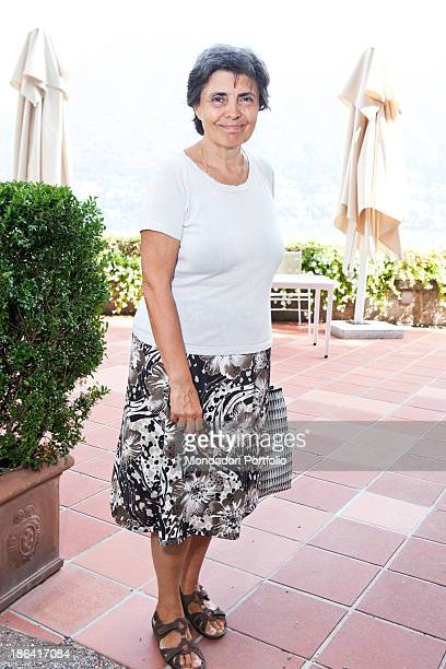 Portrait of Italian lecturer Flavia Franzoni The lecturer together with her husband Italian politician and economist Romano Prodi is attending the...