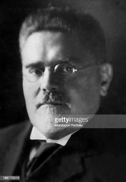 Portrait of Italian philosopher and politician Giovanni Gentile 1930s